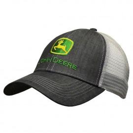 Grey Trademark mesh back cap John Dee