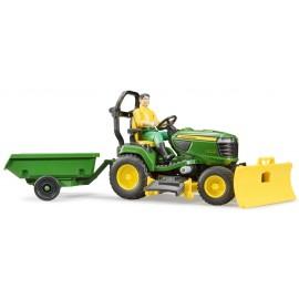 John Deere Lawn tractor+gardener