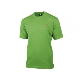 John Deere Green T-Shirt with Decorative Seam