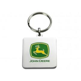 John Deere Logo Key Ring