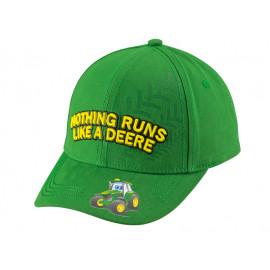 John Deere Children Cap 'Nothing Runs Like A Deere'