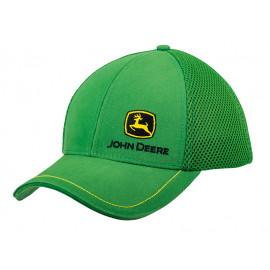 John Deere Mesh Cap Logo green