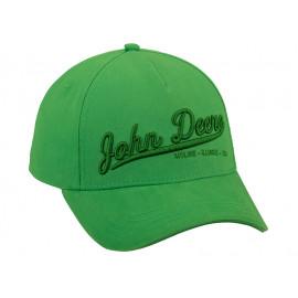 John deere Basecap John Deere 3D green