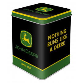 """John Deere Tea Box """"Logo Black"""""""