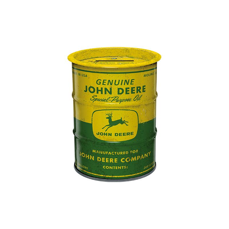 John Deere Money Box Oil Barrel