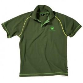 John Deere Green Polo Shirt