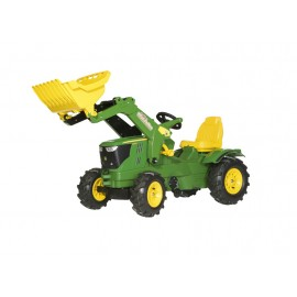 RollyFarmtrac John Deere 6210R Tractor with Loader and Pneumatic Wheels