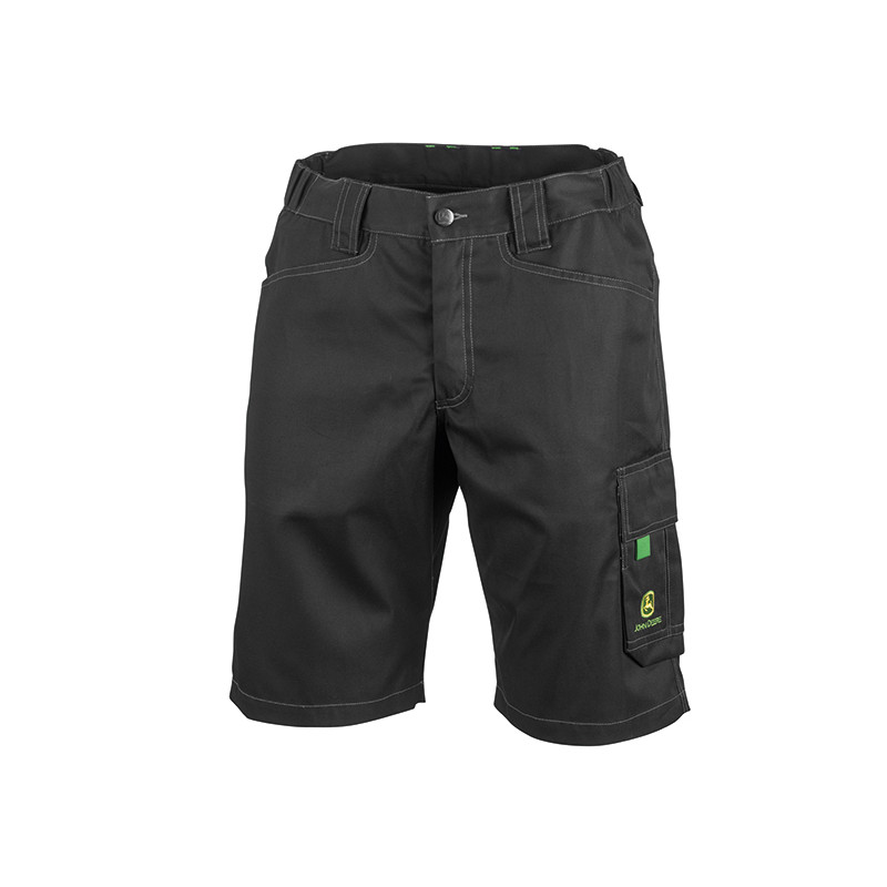 John Deere Black Work Shorts