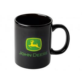 John Deere Black Mug