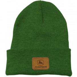 Green Beanie John Deere