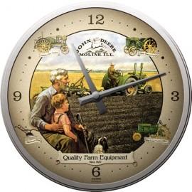 John Deere Grandfather Wall Clock