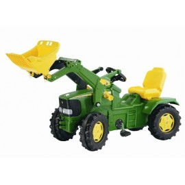 John Deere 6920 with Front Loader and Pneumatic Wheels