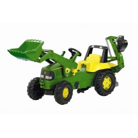 John Deere Tractor with Loader & Backhoe