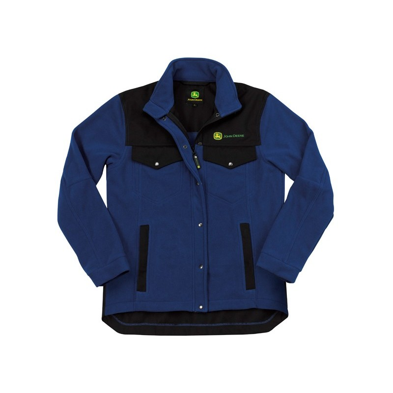 John Deere Blue Work Fleece