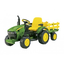 John Deere Ground Force Tractor and Trailer