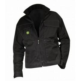 """John Deere Work Jacket """"Black"""""""