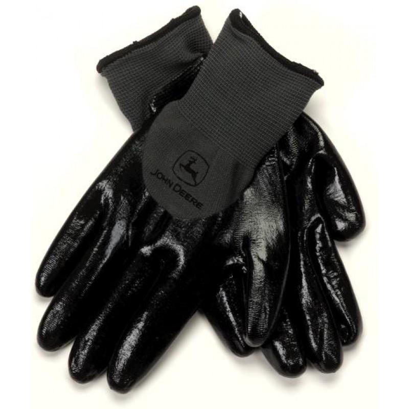 John Deere Polyamide Knitted and Nitrile Gloves